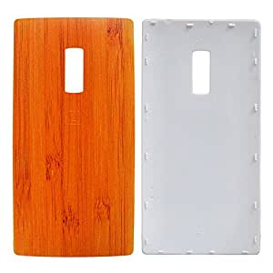 TOTTA Replacement Battery Back Cover For One Plus Two- Wooden