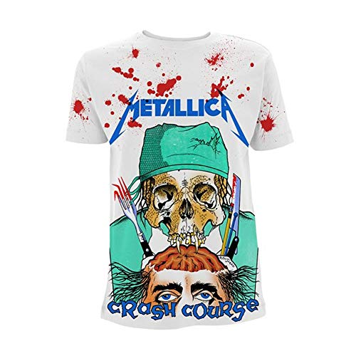 Metallica Crash Course - Jumbo T-Shirt weiß XL -