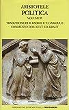 Scarica Libro Politica Testo greco a fronte 2 (PDF,EPUB,MOBI) Online Italiano Gratis