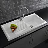 Astini Arturo 1.0 Bowl White Composite Synthetic Kitchen Sink ...