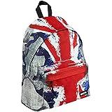Bolsa Mochila Escolar Infantil UK Bandera