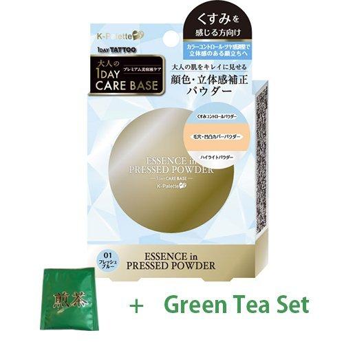 K-Palette Essence In Pressed Powder - Fresh Blue (Green Tea Set)