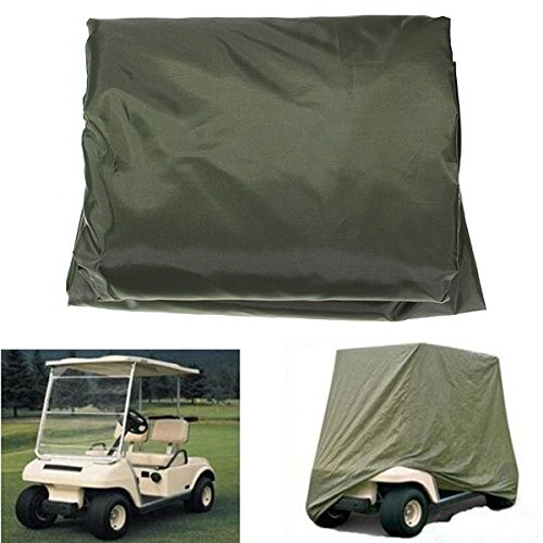 JenNiFer Wasserdichtes Golf-Cart-Cover Für Yamaha Carts Ezgo Club Cars (Golf-cart-felgen-reifen)