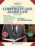 Students' Handbook on Corporate and Allied Law: Padhuka CA Final