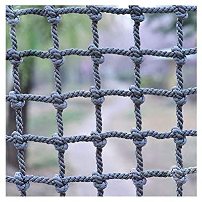 HWJ Kids Stair protection Net Window Blocking net Safe Net outdoor Climbing Net Rope Cargo Netting Cut off netting Child Anti-fall Net Rope Net (Color : 20cm-14mm, Size : 2 * 3m/6.6 * 9.8ft)