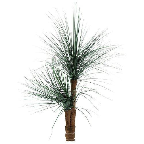Euro Palms 82511334 Graspalme mit Palmfaserstämmen, 110 cm