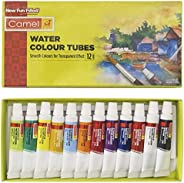 Camel Camlin Kokuyo Student Water Color Tube - 5ml Each, 12 Shades