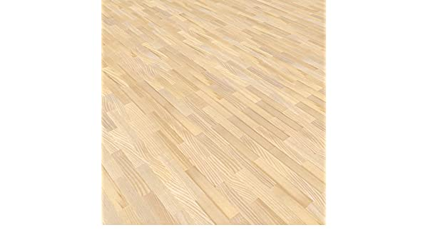 Mosaikparkett Esche englischer Verband hell//beige Natur Upfloor