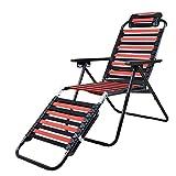 Folding chair Health UK Chaise Confortable Pliante D'élasticité De Chaise De Salon De Tissu Confortable De Plage welcome...