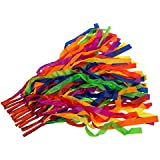 12pcs cinta del arco iris de mano de la danza Juguetes para Niños