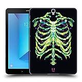 Head Case Designs Knochen Und Neon Anatomie Polygon Ruckseite Hülle für Samsung Galaxy Tab S3 9.7