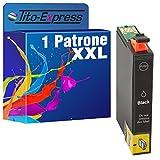 PlatinumSerie® 1x Patrone XXL kompatibel für Epson TE1631 Black Epson Workforce WF-2010W WF-2510WF WF-2520NF WF-2530WF WF-2540WF, 18 ml Inhalt