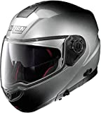Nolan N104 Absolute Fade N-Com Helm S (56) Silber