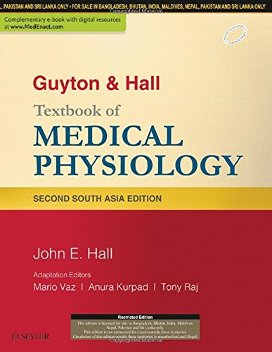 Guyton & Hall Textbook of Medical Physiology: A South Asian Edition, 2e por Mario Dr. Vaz