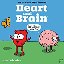 2018 Heart and Brain Wall Calendar