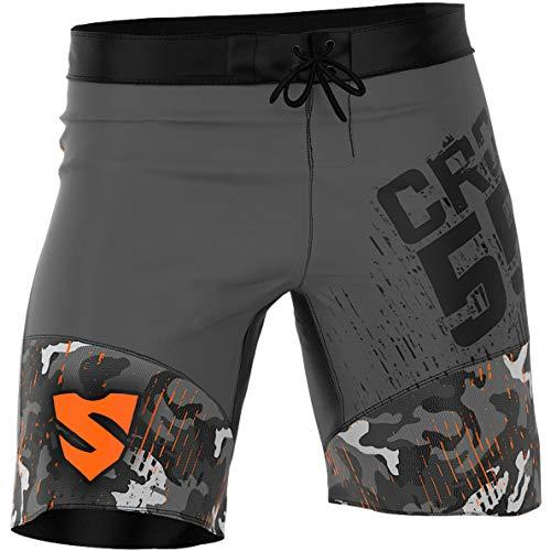 Smmash Herren Compression CrossFit Shorts MORO - Größe S M L XL XXL (M)