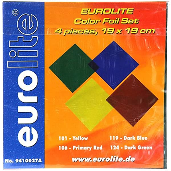 freie Farbauswahl PAR 30 PAR30 8 Stück Farbfolien Farbfilter 11,5x11,5 cm Gr