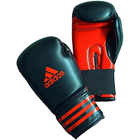 Kickboxing Gloves - 12oz Boxing Gloves / Punching Gloves / Mitts / Muay Thai kickboxing equipment by DOMinator and Adidas