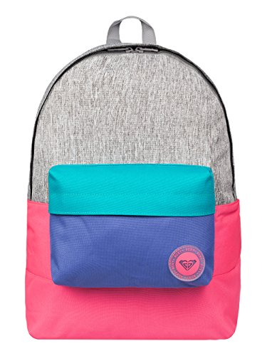 roxy-damen-rucksack-sugar-baby-colorblock-backpack-heritage-heather-41-x-32-x-11-cm-16-liter-erjbp03