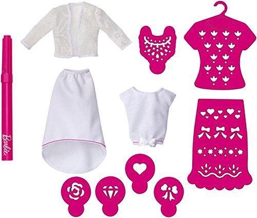 Barbie Mattel CMJ63 - Airbrush Designer, Erweiterungspack 1 (Airbrush Kleidung)