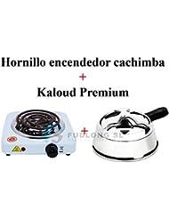 [PACK] HORNILLO encendedor cachimba bajo consumo y KALOUD premium