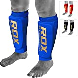 RDX MMA Boxen Schienbeinschutz Kampfsport Kickboxen Schienbein Schienbeinschoner Beinschützer Schienbeinschützer