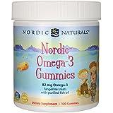 Nordic Naturals, Nórdico Omega-3 Gummies, Golosinas mandarina, ...