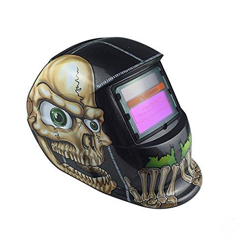 ZANTEC Casco di saldatura automatica casco creativo unico maschera solare