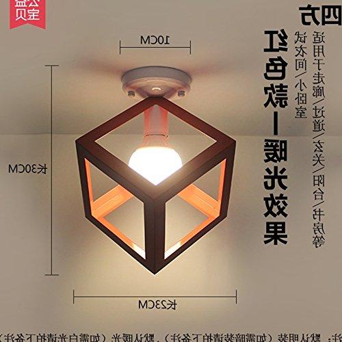 Luckyfree Pendelleuchte Zimmer Bar Cafe Restaurant Küche Flur Lampen Deckenleuchte Kronleuchter Deckenlampe Garten Hyun-Off Emerald