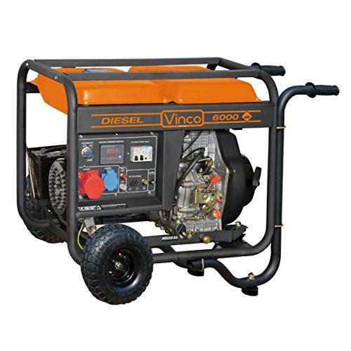 Generatore di corrente carrellato Diesel Vinco 5,5 usato  Spedito ovunque in Italia