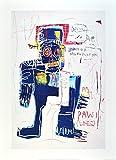 Jean-Michel Basquiat Irony of Negro Policeman 1981 Poster Kunstdruck Bild 70x50cm - Germanposters