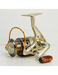 weian10-axis Metal cabeza redonda caña de pescar carrete de pesca mar carrete pescado rueda Thrown rueda Throwing pescado rueda Pesca Gear