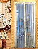 XJ&DD Protettore della porta finestra,Net tenda schermo mesh,Protettore della porta finestra,Tenda anti-zanzara,Anti-zanzara magnetismo Porta del filo Tenda morbida-B 105x210cm(41x83inch)