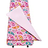 Olive Kids Paisley Nap Mat Attached Blanket Lined With Cotton Flannel
