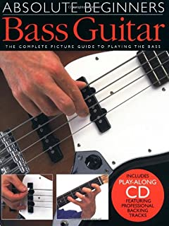 Absolute Beginners Bass Guitar (Book & CD) (0711974276) | Amazon price tracker / tracking, Amazon price history charts, Amazon price watches, Amazon price drop alerts