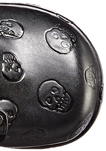 Demonia CONCORD-55 Blk Vegan Leather- Velvet