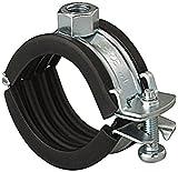 Fischer Collare a cerniera per tubi FGRS Plus - FGRS PLUS 40-44 (1 1/4) M8/M10-50 pezzi per confezione