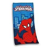 Herding Velourstuch Ultimate Spiderman, Baumwolle, Mehrfarbig, 150 x 75 cm