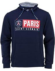 Sweat capuche PSG - Collection officielle PARIS SAINT GERMAIN - Taille adulte homme