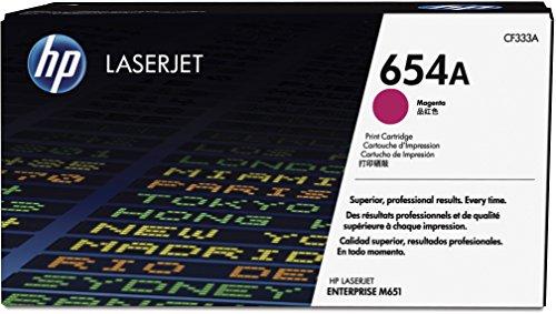 Preisvergleich Produktbild HP 654A (CF333A) Rot Original Toner für HP Color Laserjet Enterprise M651