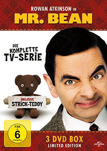 Mr. Bean – Die komplette TV-Serie (Limited Edition, inklusive Strick-Teddy, 3 Discs)