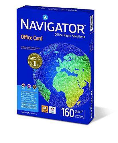 comprare on line Navigator Office Card Carta Premium per ufficio, Formato A4, 160 gr, risma da 250 fogli prezzo