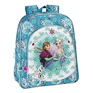 51lMoMGImWL. SS300  - Disney Frozen - Mochila Junior Adaptable a Carro (SAFTA 611538640)