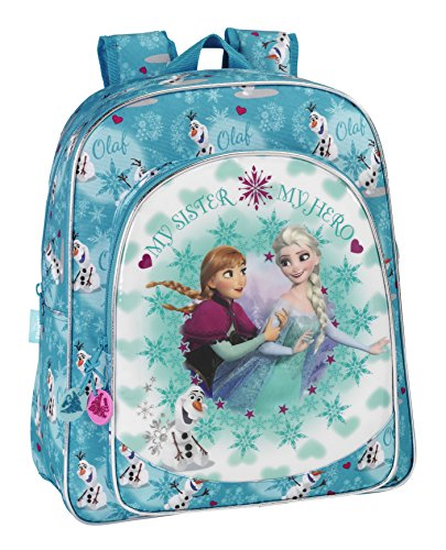 Frozen - Mochila junior adaptable a carro (Safta)