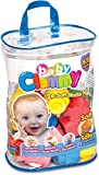 Clementoni 14889 Baby Clemmy Sacca, 24 Mattoncini