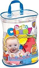 Idea Regalo - Clementoni 14889 Baby Clemmy Sacca, 24 Mattoncini