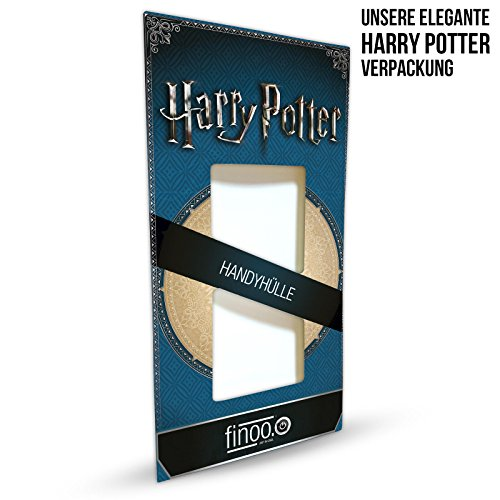 finoo | iPhone 8 Weiche flexible Silikon-Handy-Hülle | Transparente TPU Cover Schale mit Motiv | Tasche Case Etui mit Ultra Slim Rundum-schutz |Harry Potter Portrait Harry Potter Hermine Ron Muster