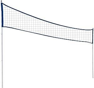 ASOSMOS Faltbares Badmintonnest Tragbares Tennis-Volleyball-Netz verstellbar einfache Installation Tennis-Zubeh/ör f/ür drinnen und drau/ßen
