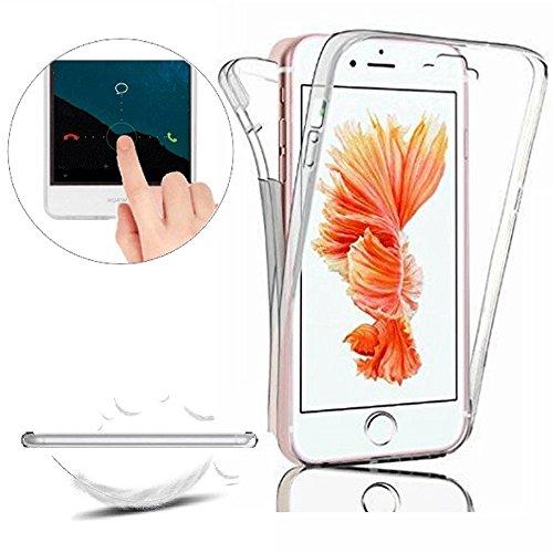 Custodia iPhone 6. flessibile sottile Silicone Morbido Retro