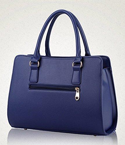 Keshi Pu Cool Damen Handtaschen, Hobo-Bags, Schultertaschen, Beutel, Beuteltaschen, Trend-Bags, Velours, Veloursleder, Wildleder, Tasche Himmelblau
